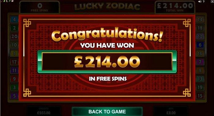 gratis spins zodiac casino