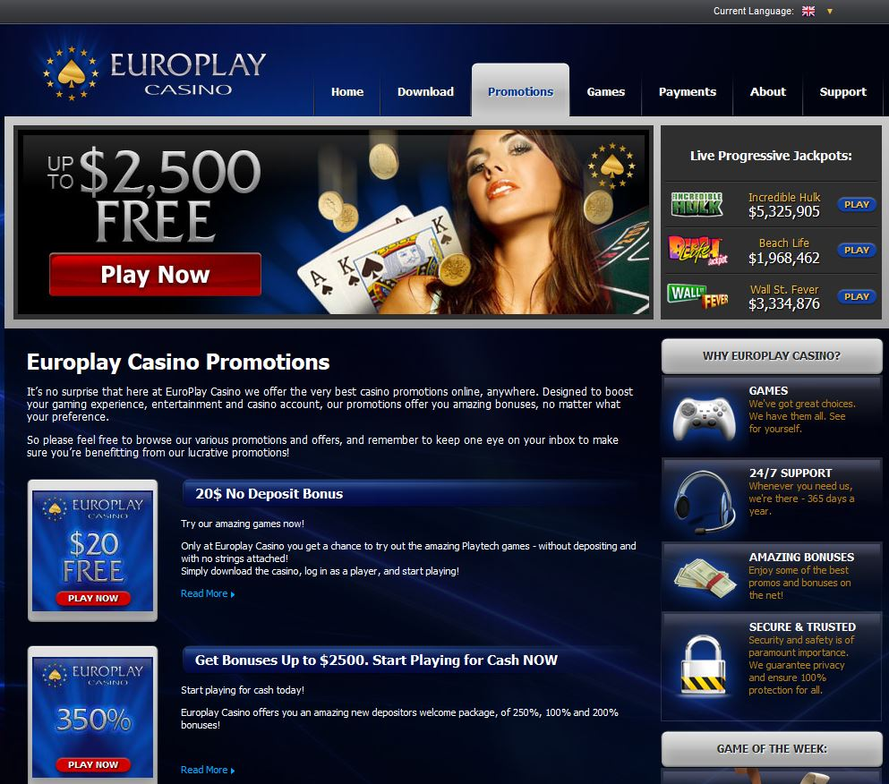 Europlay Casino