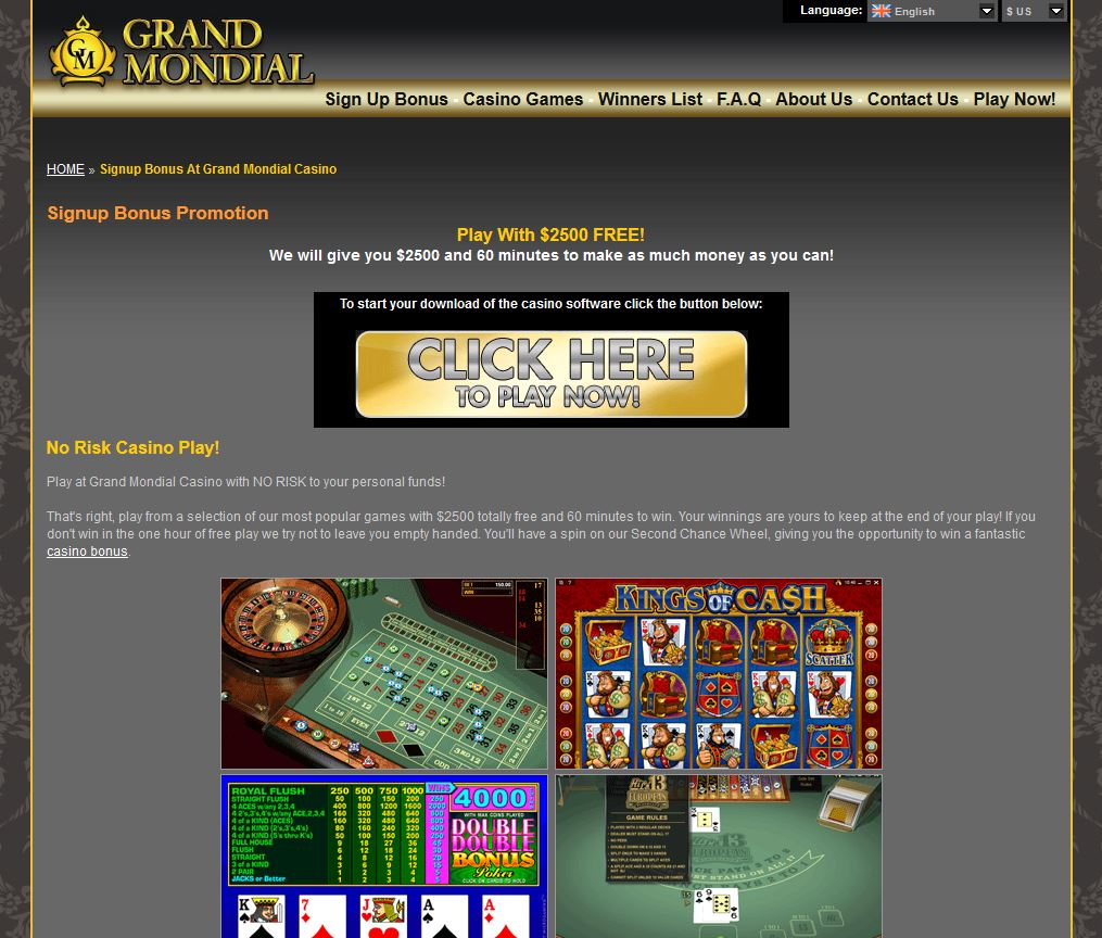 grand mondial casino ceo fired