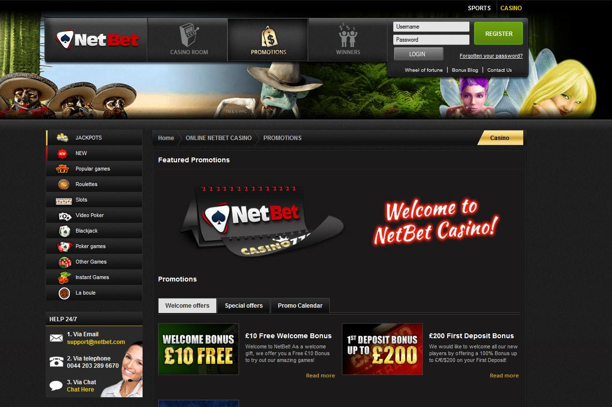 netbet bonus casino