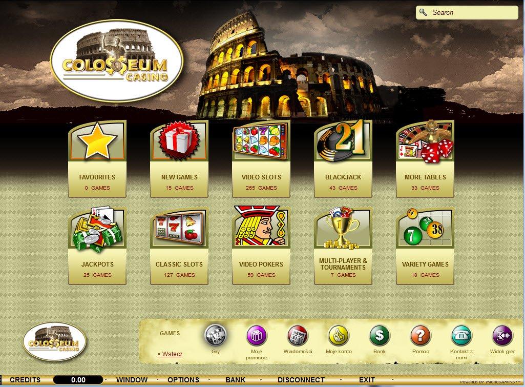 colloseum casino