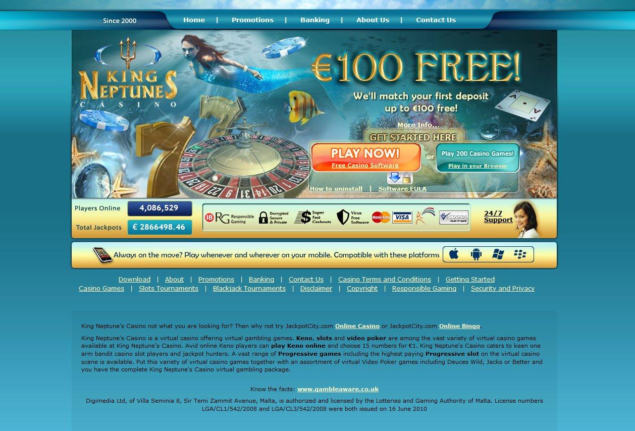 Casino King Neptunes