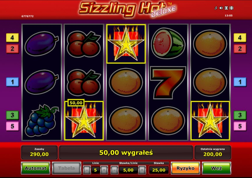 Sizzling Hot Z Kreceniami Ag Online