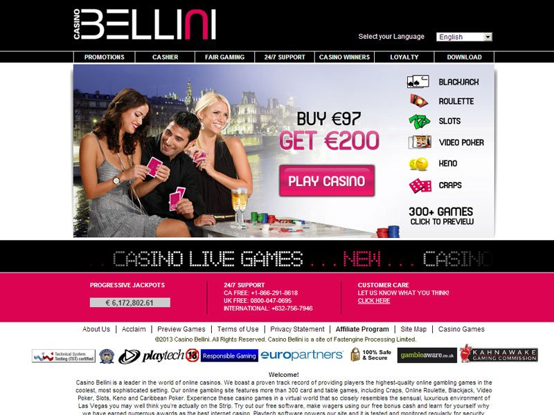 Беллини казино онлайн система заработка в интернет казино, от профессора маккинли