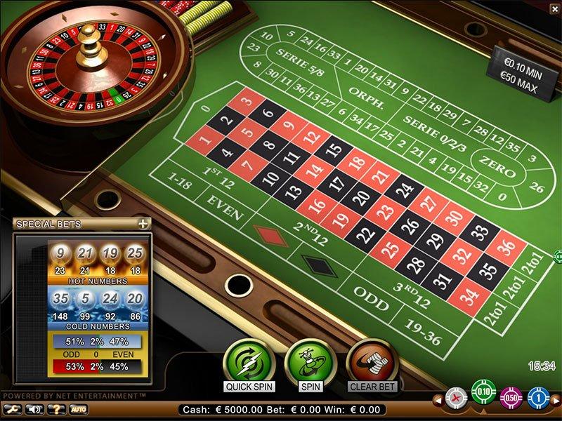 Melhores Jogos de Roleta Online em Casino.com Portugal