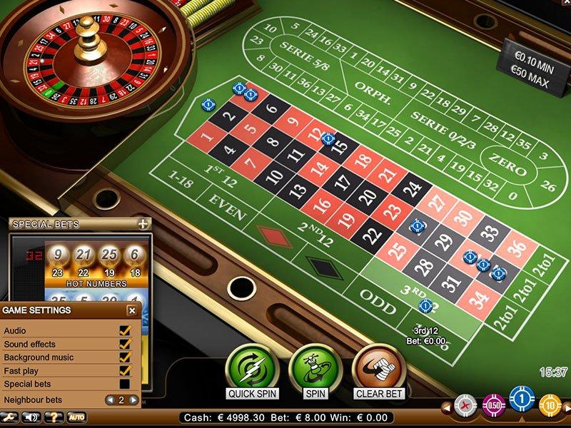 de online casino european roulette