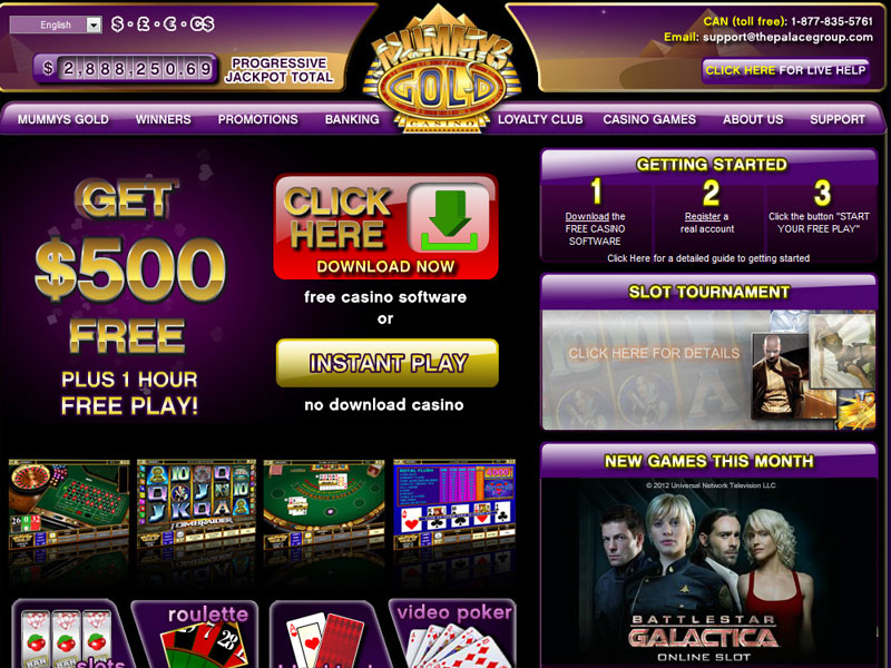 Mummysgold casino bay casino louis magic saint
