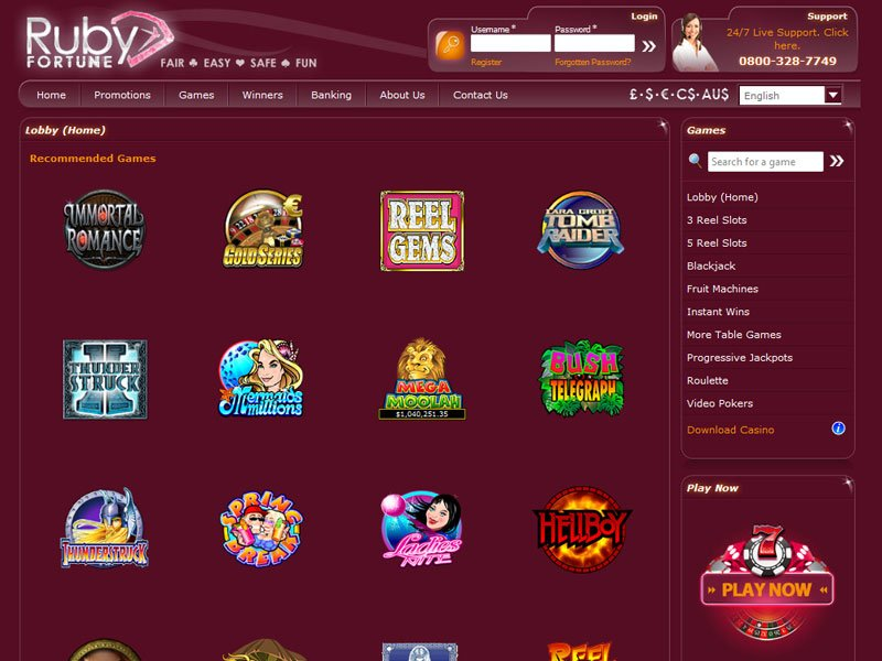 How to Find a Totally free Ruby Fortune On line casino Slot Site