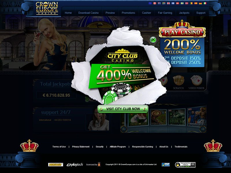 Crown Europe Casino Preview