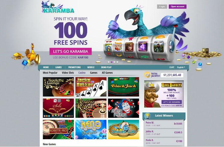 karamba online casino casino games gratis