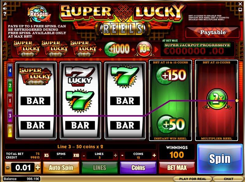 super lucky reels casino