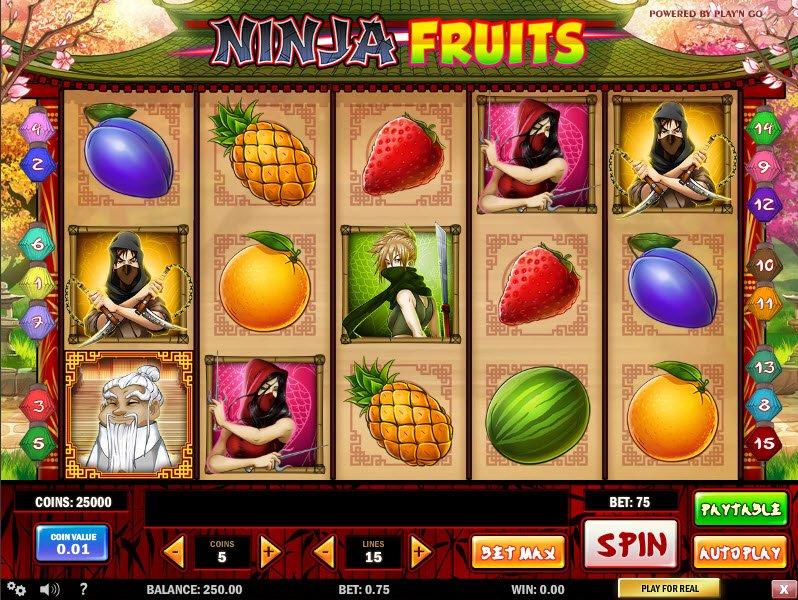 Ninja fruits casino