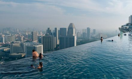 Piscina mais alta do mundo - Singapura