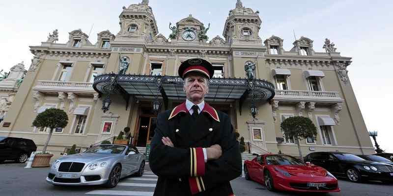 Monaco casino car park