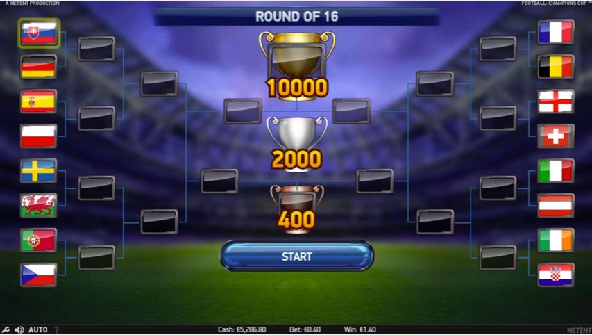 online slot casino football champions cup
