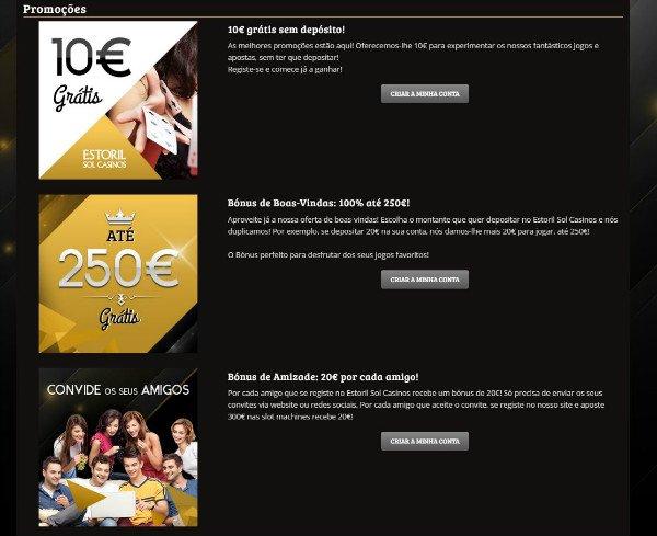 Estoril casinos online