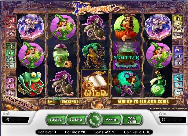 Игровой автомат wild witches circus игровые автоматы