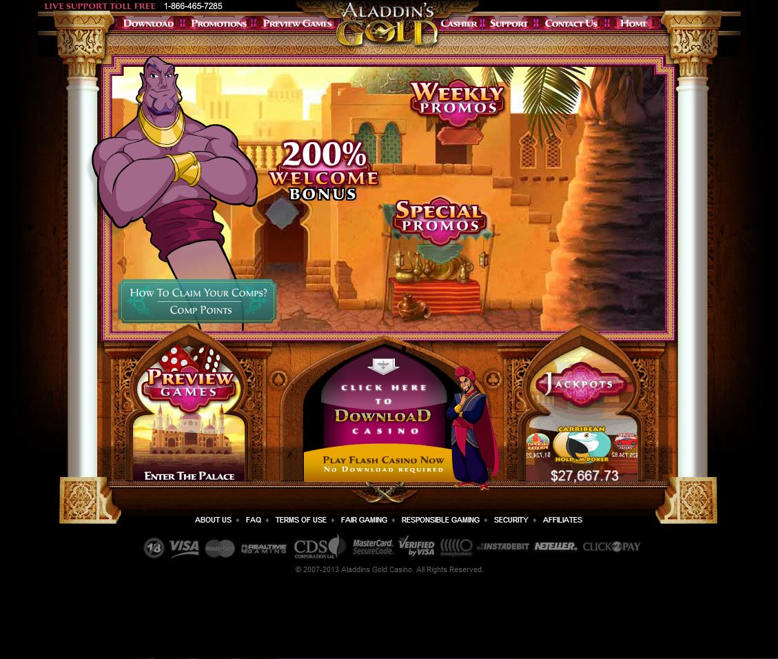 Aladdins gold online casino machines/casinos