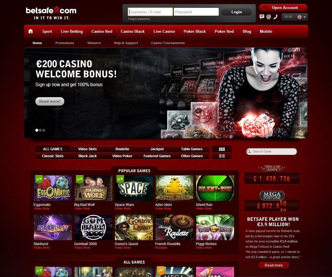 play the best online casino
