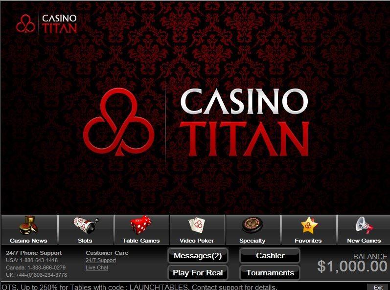 titan casino no deposit bonus