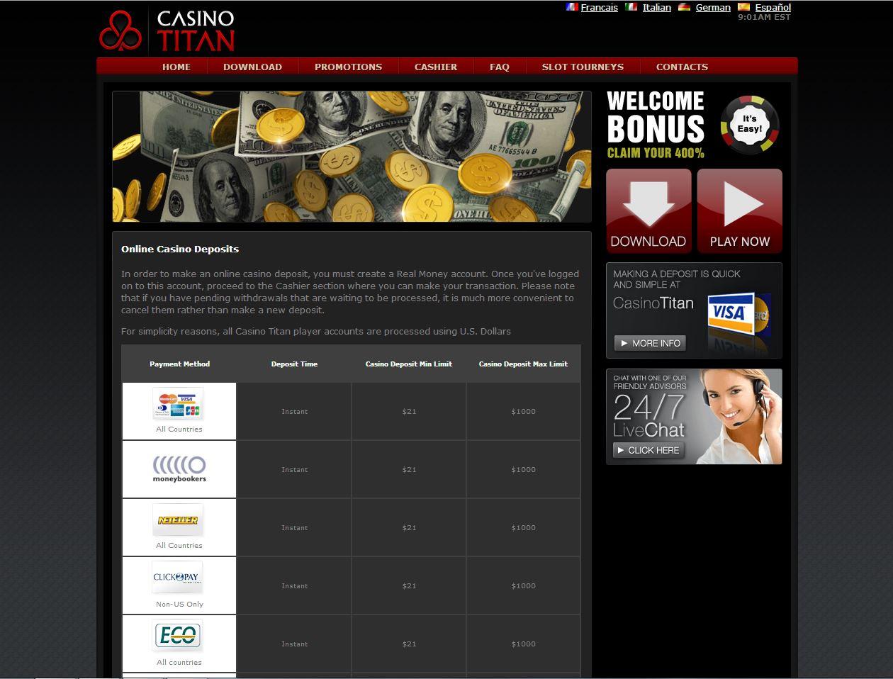 Бонусы без депозита казино за регистрацию с выводом