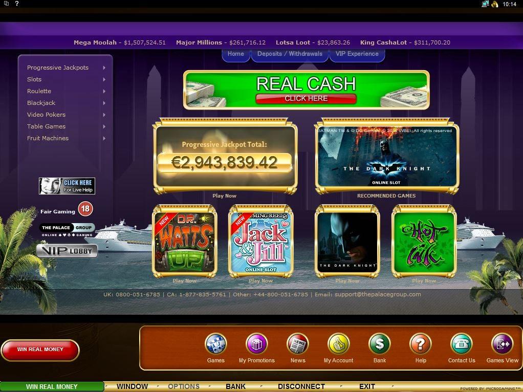 официальный сайт казино онлайн список всех новых