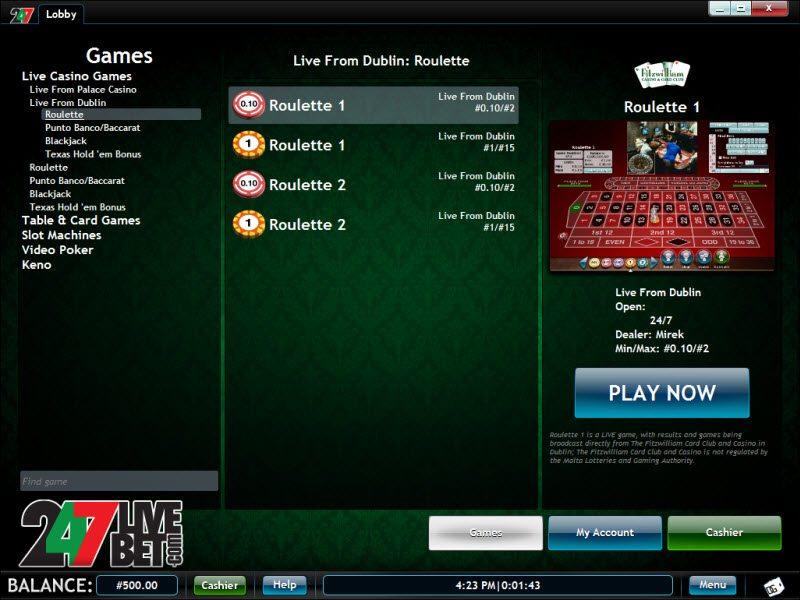 Casino live 247
