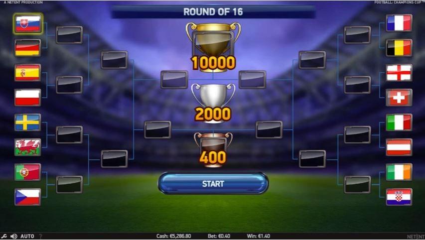 футбол кубок чемпіонів 2 слота