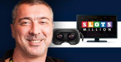 SlotsMillion VR Casino - Intervju med casinots VD Alexandre Tomic