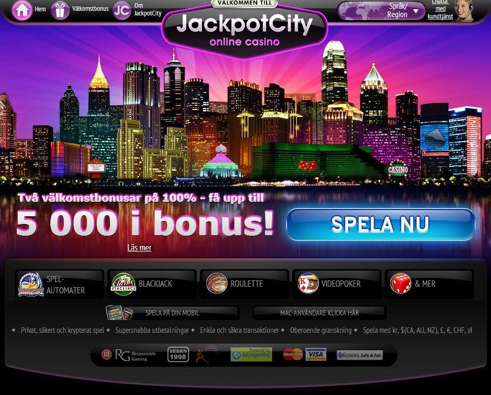 Jackpot City Ett Online Casino Med Tradition