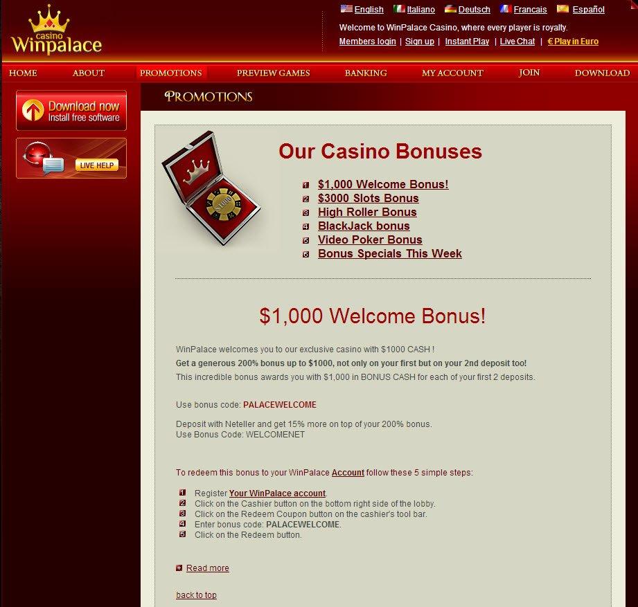 Winners casino