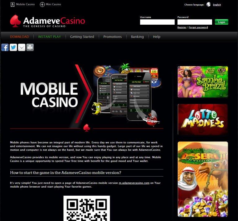 Adameve Casino