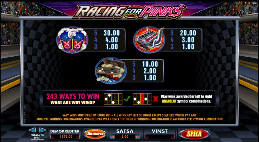 Racing for Pinks | Euro Palace Casino Blog