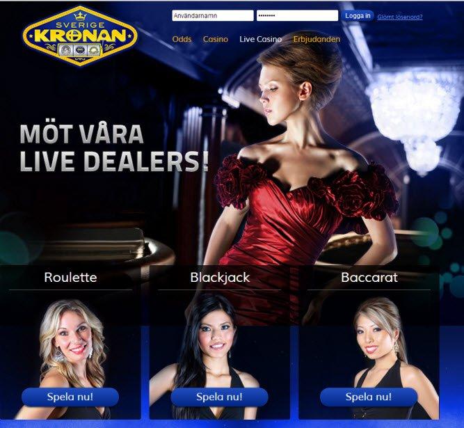 Playing blackjack at a casino