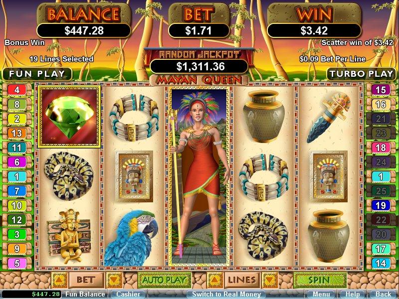 Mayan Queen Free Slot Machine