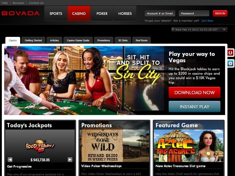 Bovada Casino Las Vegas