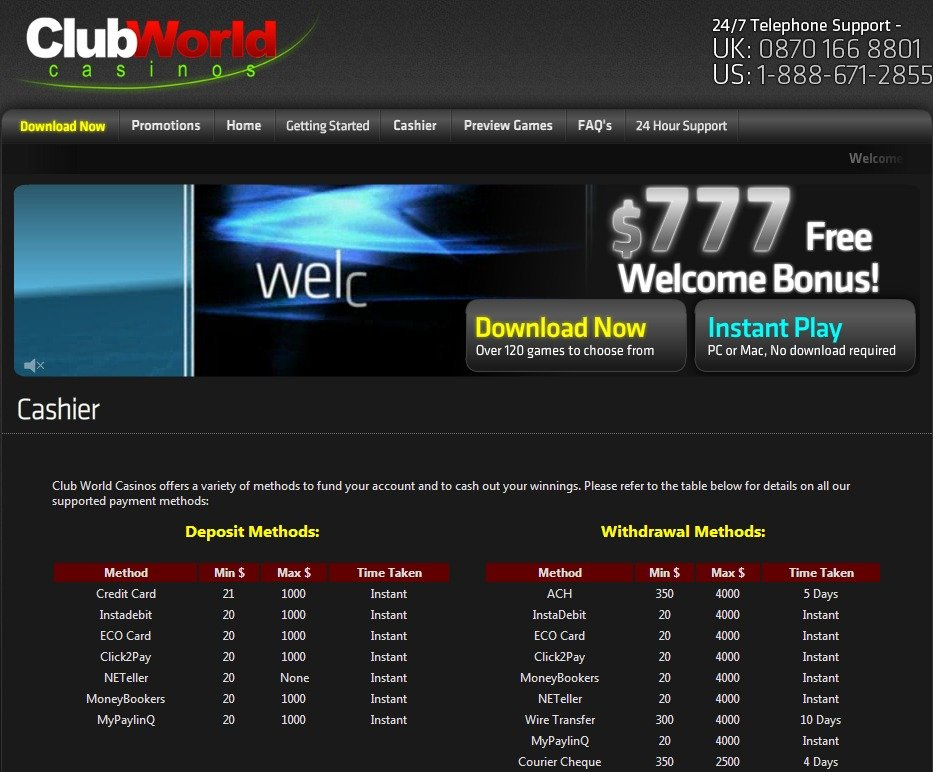 club world casino safe