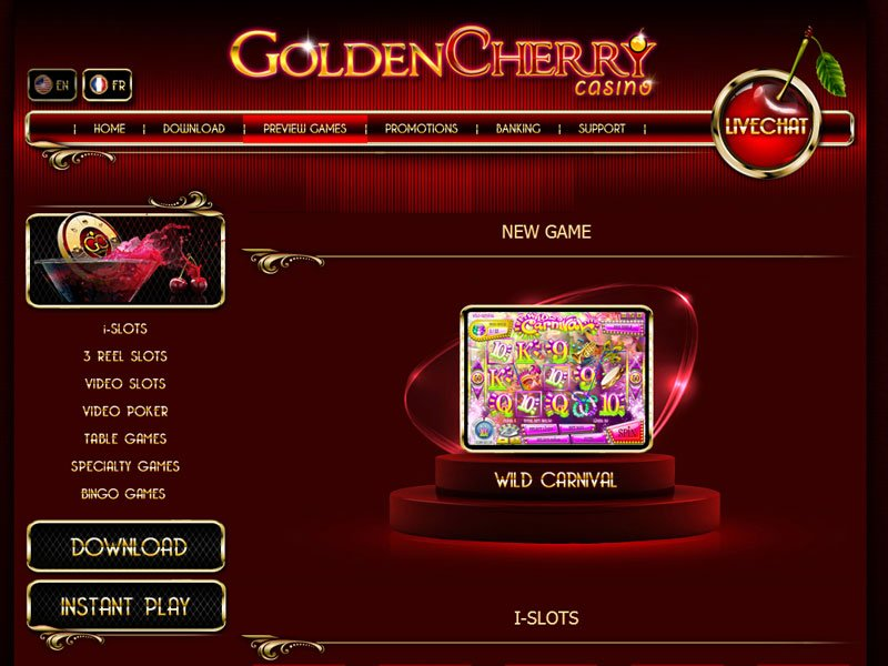 Full Golden Cherry Casino Slots