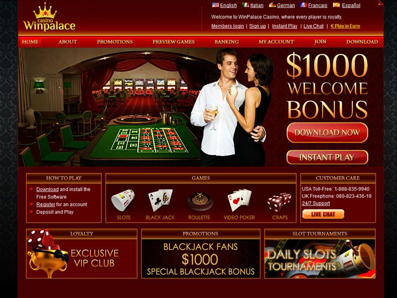 Winpalace Casino Instant Play