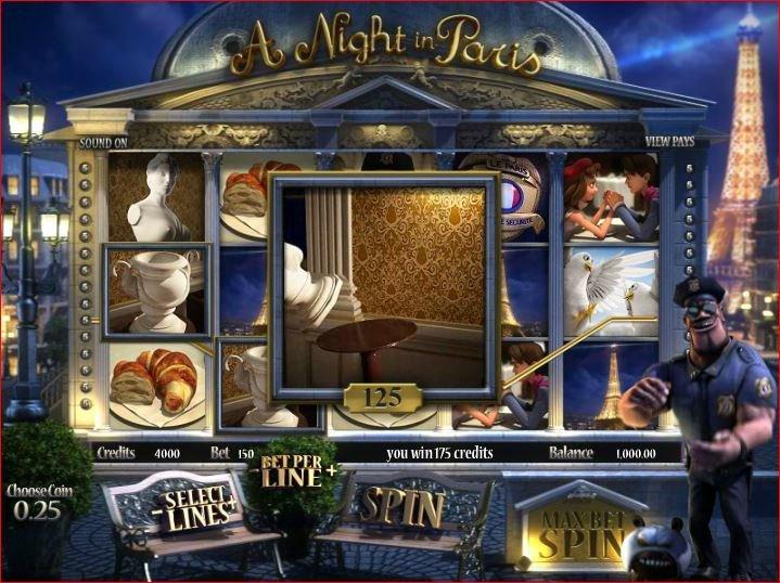 A Night in Paris Slot Machine