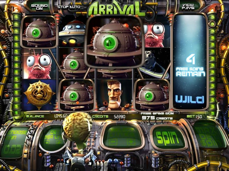 Arrival™ Slot Machine Game to Play Free in BetSofts Online Casinos