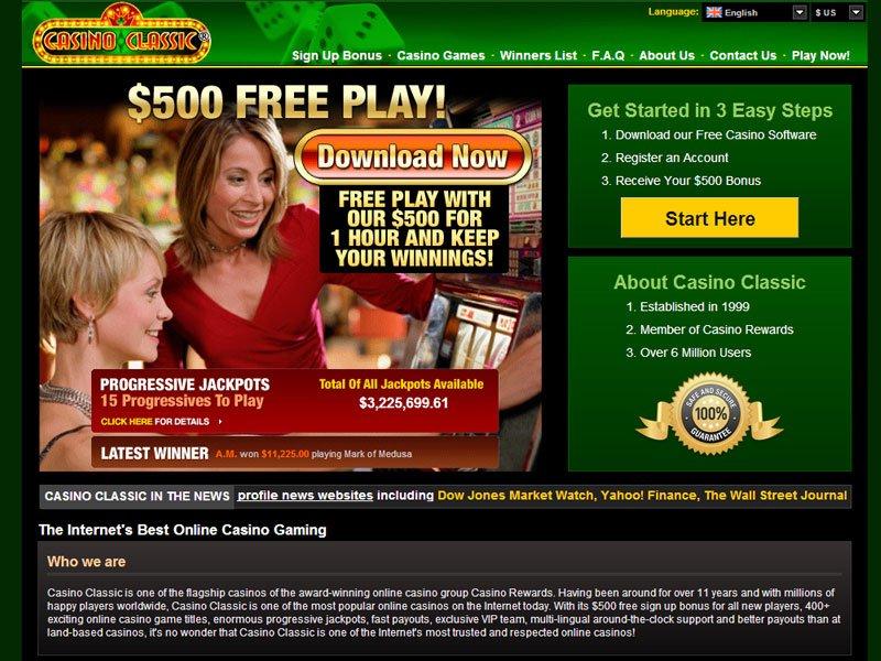 Casino Classic | Jetzt Die Besten Online Slots Spielen