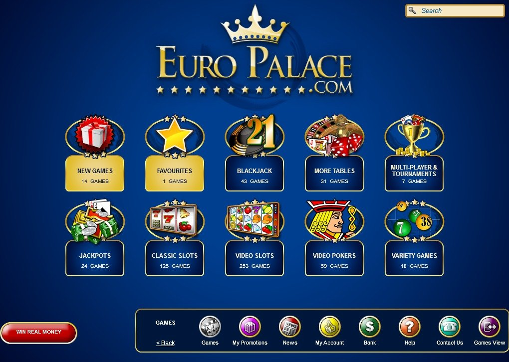 Europalace Casino Free