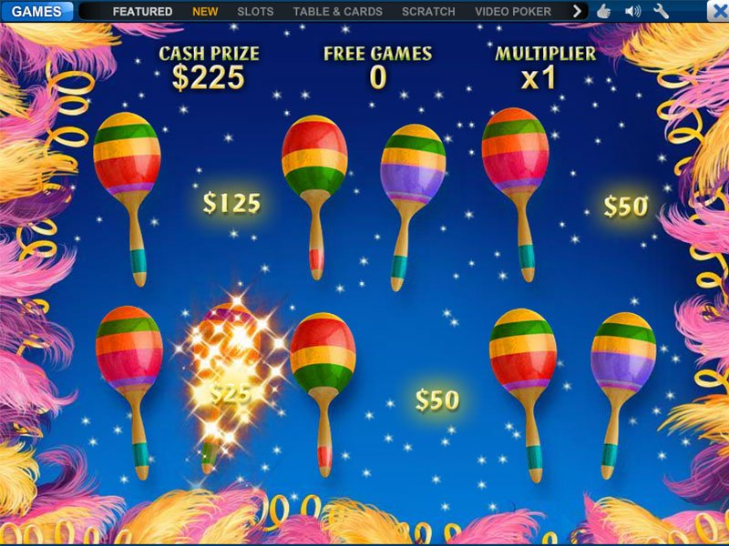 Play Samba Brazil Slots Online at Casino.com Canada