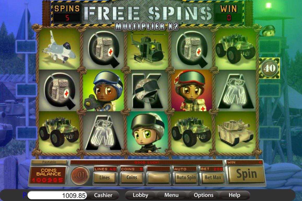 Free casino slots no deposit
