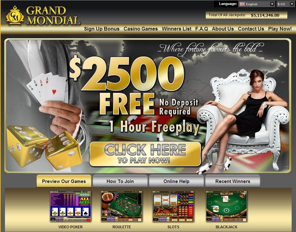 Grand Mondial Casino Einloggen
