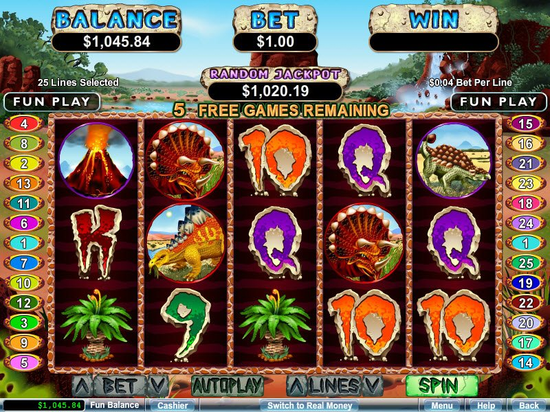 Casino games on mobile