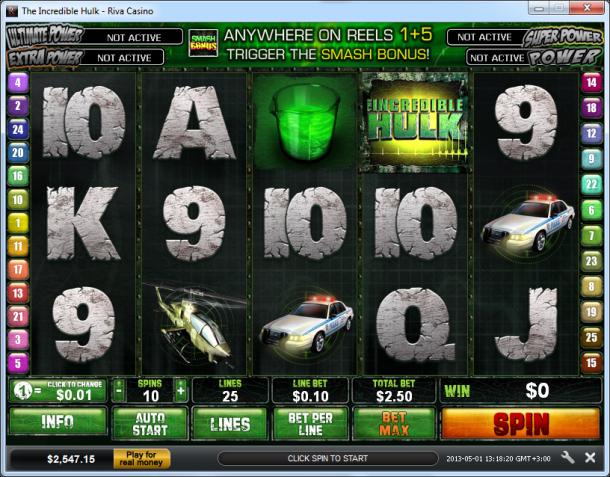 Slot Machine Gratis Hulk