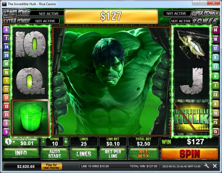Slot Machine Gratis Lincredibile Hulk