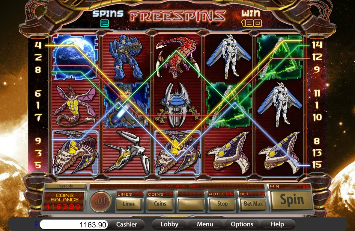The War of The Worlds™ Slot Machine Game to Play Free in PartyGamings Online Casinos
